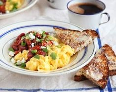 Bill Granger uses chilli, coriander and lime to add some oomph to a breakfast favourite