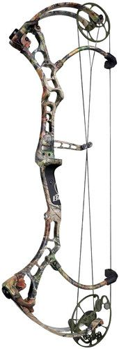 "2012 Fred Bear CARNAGE 26"" 50# Left Hand Compound Bow Realtree APG Camo"