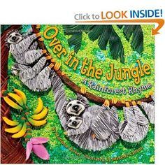 Book, Over in the Jungle by Marianne Berkes
