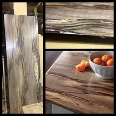 This Formica 180fx laminate counter top is looking sharp! #laminate #formica #dolcevita #countertop