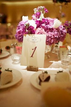 Ideas for Table Names and Numbers  Wedding Reception Photos on WeddingWire