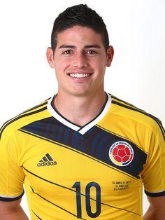 Las fotos oficiales de #Colombia #Fifa #Brasil2014 - James Rodriguez