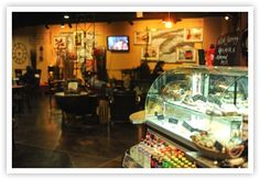 Service Station   an inviting coffee shop and event facility all in one.
