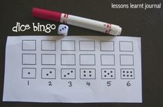 Dice Bingo 1. Repinned by Generation iKid.