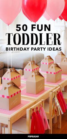 50 Fun Ways to Fete Your Terrific Toddler