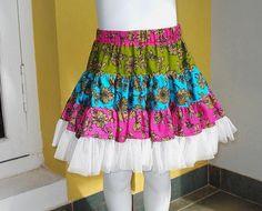 Twirl skirt pdf sewing pattern $6.99