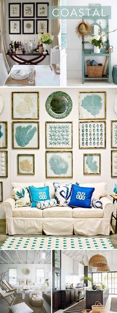 Interior Style File: Coastal Chic | theglitterguide.com