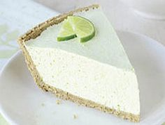 WW Lime Chiffon Pie-This is a healthy, delicious and Easy, no-cook, heart-healthy, Zero Cholesterol, Low calorie, low carbohydrate, Diabetic AND Weight Watchers 4 PointsPlus+ recipe.