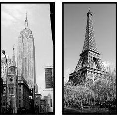 Pro Tour Memorabilia 2pk New York and Paris Plaque
