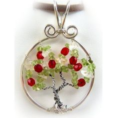 Wire Wrap Lesson Tree of Life Pendant Apple Tree