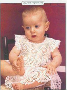 crochet babi, little dresses, dress patterns, crochet dresses, dolce vita, crochet baby dresses, babi dress, a little princess, crochet patterns