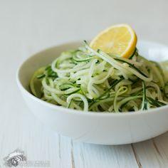 Lemon Cucumber Noodles with Cumin #grainfree #glutenfree