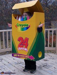 Crayolas Costume - Halloween Costume Contest via @costumeworks