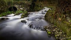 Near Ulverstone in Cumbria, England