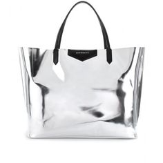 metallic givenchy tote.