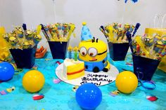 Despicable me, Minion birthday Party