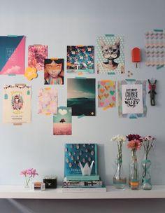 my bedroom moodboard #washitapes #decor