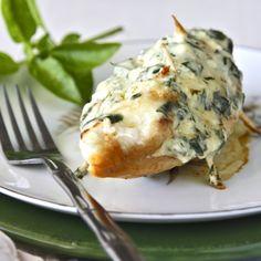 Parmesan Stuffed Chicken Breast