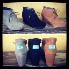 Toms wedges Fall 2012
