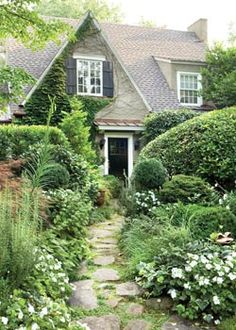 beautiful home with garden