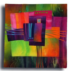 when art merges with quilting...simply breathtaking!.