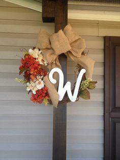 Fall wreath!!