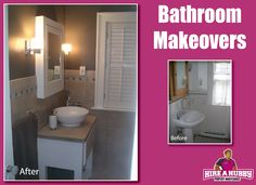What about this spectacular Bathroom makeover?