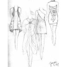Sketches On Pinterest Fashion Sketches Fashion