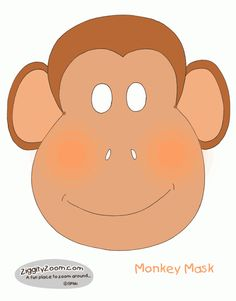 Monkey Mask for Monkey Play