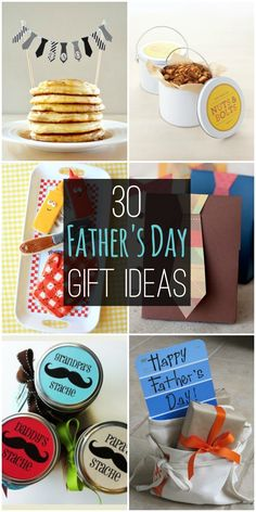 30 Father's Day Gift Ideas - All perfect ideas for Dad or Grandpa on their special day!! { lilluna.com }