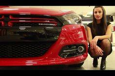 Miss Mopar walks around the 2013 Dodge Dart at Lansdale Chrysler Dodge Jeep RAM