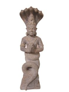 "Yoga Guru Patanjali Statue with Five Headed Cobra Sculpture 7"" by Mogul Interior, http://www.amazon.com/dp/B007SLD4UM/ref=cm_sw_r_pi_dp_djRGpb1J7WYM9$145.00 sculptures, guru patanjali, sculptur 14500, yoga guru, cobra sculptur, head cobra, stone statu, patanjali statu, patanjali father"
