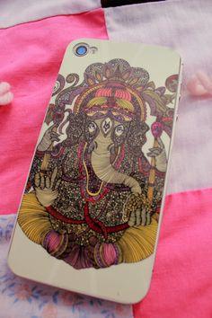 Ganesha iphone cover :)