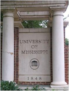 University of Mississippi in Oxford, MS