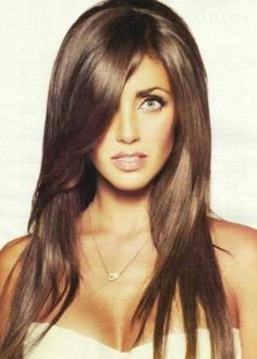 Shiny brunnette, I like a lot this hair color! Actually i want this for my hair... :)