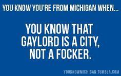 Michigan, my Michigan!