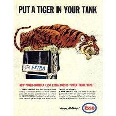 1970's ESSO Oil Ad.
