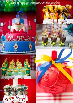Festa infantil Branca de Neve . White snow birthday party