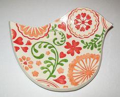 Ceramic spoon rest on Etsy