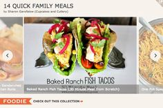 Fast Family Friendly Meal Ideas!