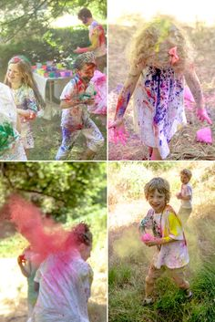 How to Host a Color Fight | Oh Happy Day