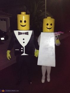 Mr & Mrs Lego - 2013 Halloween Costume Contest