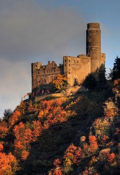 Rhine River Castle - Germany