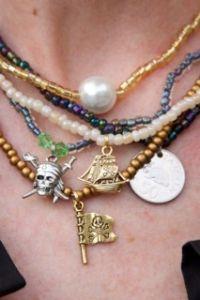 Gasparilla necklaces!