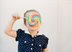 K and her lollipop (Contax 645, Kodak Portra 400).
