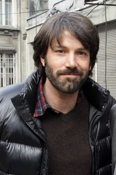 Ben Affleck shows off longer hair, beard on set of Argo