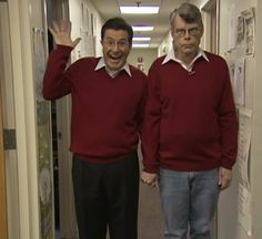 Stephen Colbert and Stephen King