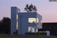 Unconventional ultra-modern homes across America. This one, maybe surprisingly, is in Ohio.