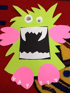 Mrs. Ayala's Kinder Fun: M is for Monster: Be sure to like kinderfun on FB!