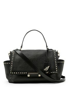The Highline Courier with stud detail is a versatile day bag with an edge.  http://on.dvf.com/18grNie